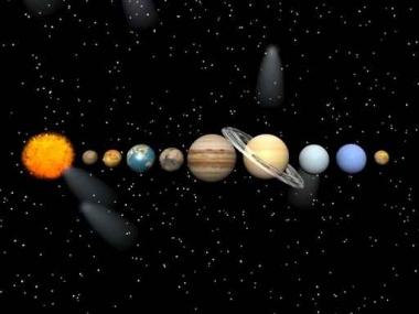 Fototapety KOSMOS planety 2178