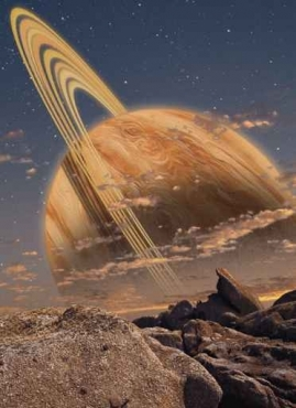 Fototapety KOSMOS planety 2184