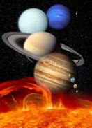 Fototapety KOSMOS planety 2185 mini