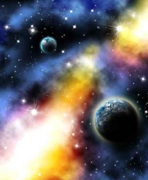 Fototapety KOSMOS planety 2192