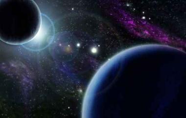 Fototapety KOSMOS planety 2196