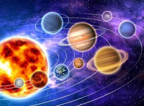 Fototapety KOSMOS planety 2200-big