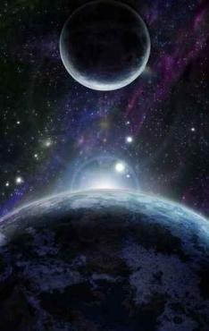 Fototapety KOSMOS planety 2201