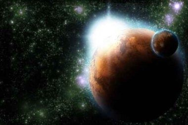 Fototapety KOSMOS planety 2209