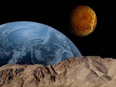Fototapety KOSMOS planety 2213