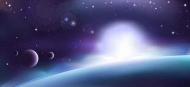 Fototapety KOSMOS planety 2214 mini