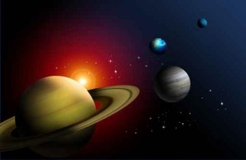 Fototapety KOSMOS planety 2215-big