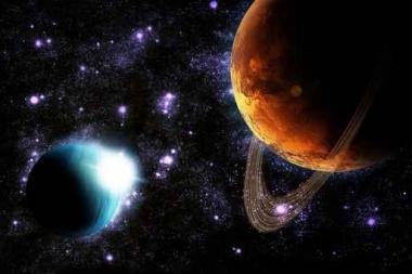 Fototapety KOSMOS planety 2217