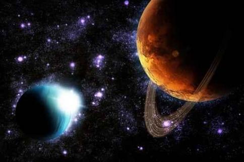 Fototapety KOSMOS planety 2217-big