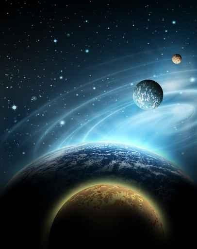 Fototapety KOSMOS planety 2220-big