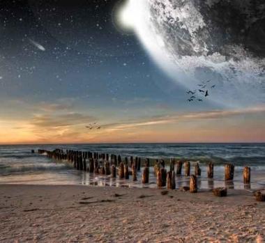 Fototapety KOSMOS planety 2221