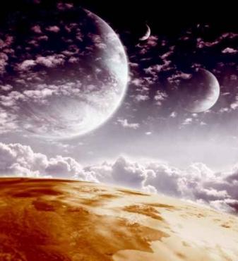 Fototapety KOSMOS planety 2224