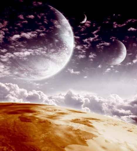 Fototapety KOSMOS planety 2224-big