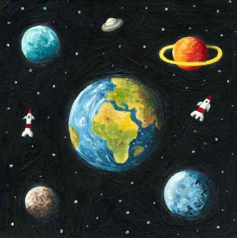 Fototapety KOSMOS planety 2227-big