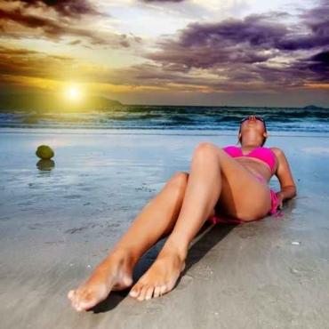 Fototapety LUDZIE na plaży 2710