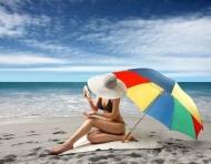 Fototapety LUDZIE na plaży 2724 mini
