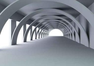 Fototapety ARCHITEKTURA tunele 352