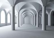 Fototapety ARCHITEKTURA tunele 353 mini