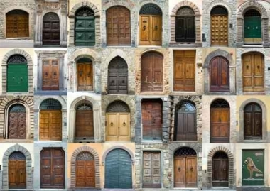 Fototapety ULICZKI drzwi 4356