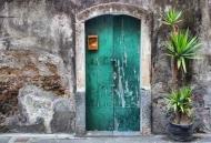 Fototapety ULICZKI drzwi 4358 mini