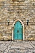 Fototapety ULICZKI drzwi 4361 mini