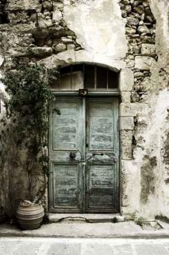 Fototapety ULICZKI drzwi 4363