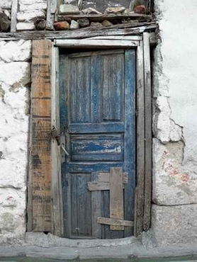 Fototapety ULICZKI drzwi 4364
