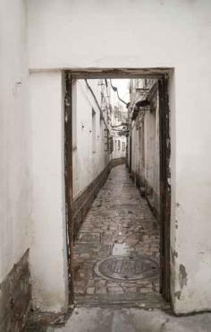 Fototapety ULICZKI drzwi 4367
