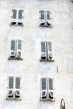 Fototapety ULICZKI okna 4370