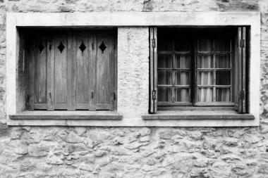 Fototapety ULICZKI okna 4373