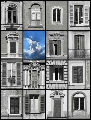 Fototapety ULICZKI okna 4374-big