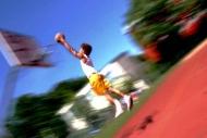 Fototapety SPORT koszykówka 5045 mini