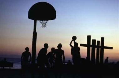 Fototapety SPORT koszykówka 5051