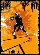 Fototapety SPORT koszykówka 5053 mini