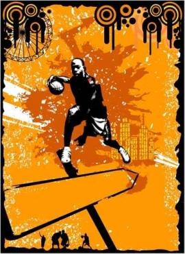 Fototapety SPORT koszykówka 5053