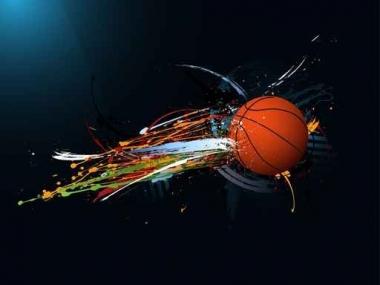 Fototapety SPORT koszykówka 5065