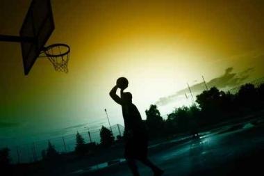 Fototapety SPORT koszykówka 5067