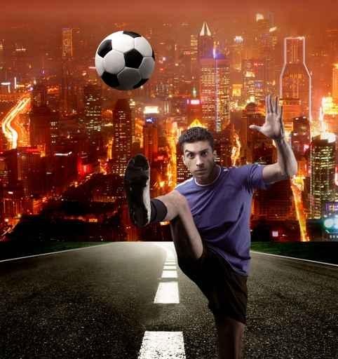 Fototapety SPORT piłka nożna 5130-big