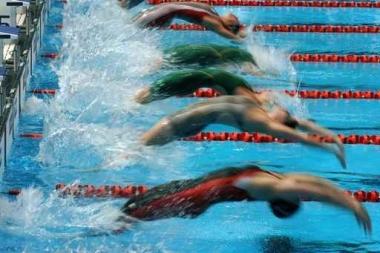 Fototapety SPORT pływanie 5158