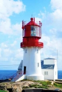 Fototapety BUDOWLE, ZAMKI latarnia morska 520 mini