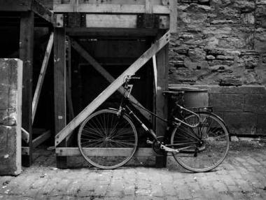 Fototapety ULICZKI rowery 5227
