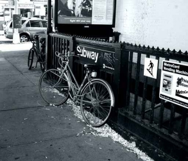 Fototapety ULICZKI rowery 5228