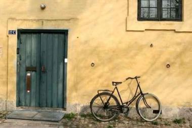 Fototapety ULICZKI rowery 5229