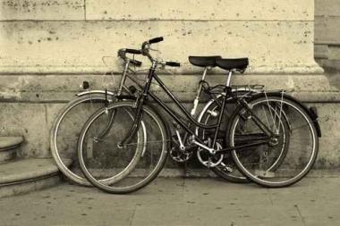 Fototapety ULICZKI rowery 5230