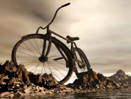 Fototapety ULICZKI rowery 5232 mini