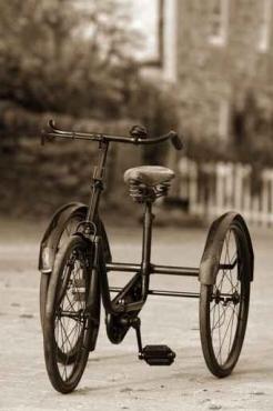 Fototapety ULICZKI rowery 5233
