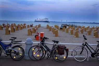 Fototapety ULICZKI rowery 5237