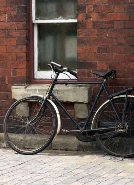 Fototapety ULICZKI rowery 5238