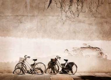 Fototapety ULICZKI rowery 5240