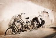 Fototapety ULICZKI rowery 5241 mini